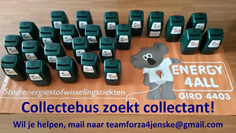 Collecte Forza4Jenske voor Energy4All