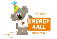 Energy4All 15 jarig jubileum   ( online )