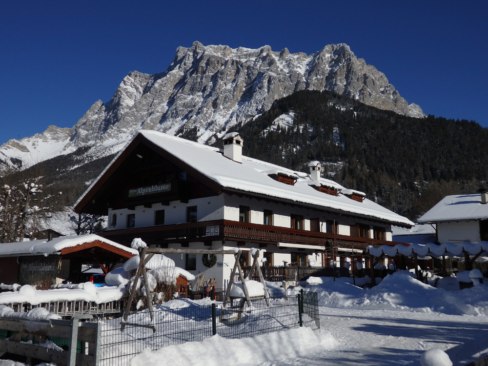 Haus Alpenblume winter