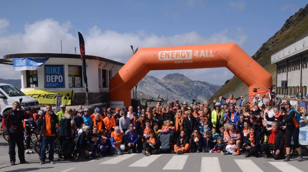 Forza4Energy4All groep Stelvio 2017